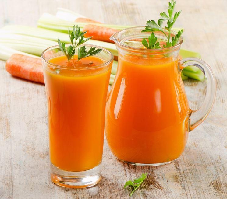 carote appena colte