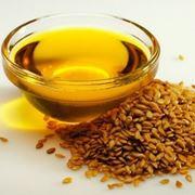 olio di semi di lino e semi di lino