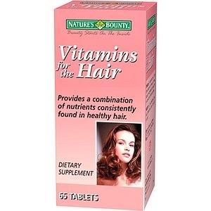Applicazione di vitamina B esternamente per capelli
