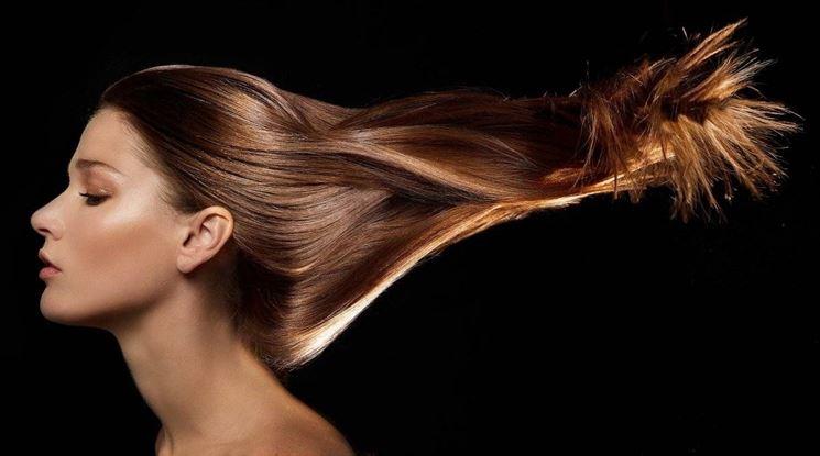 cipolla per capelli luminosi e forti
