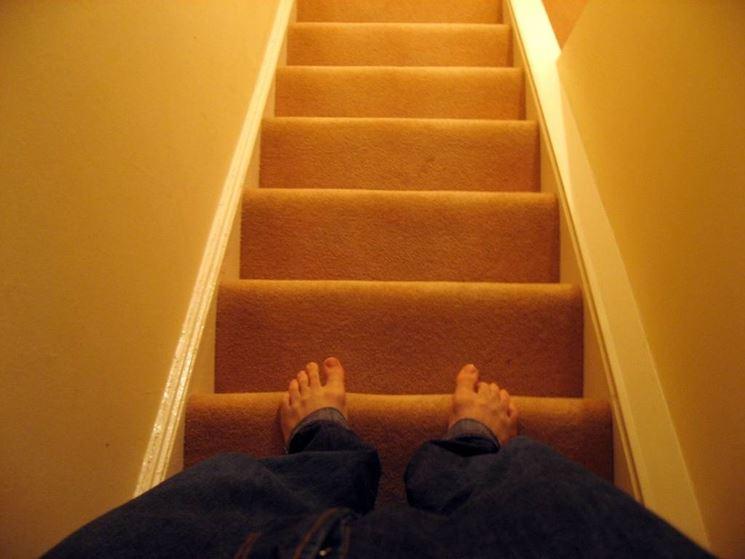 Paura di affrontare le scale
