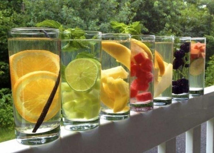 Infusi di frutta naturali
