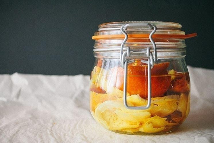 Infuso di arancia e Rum