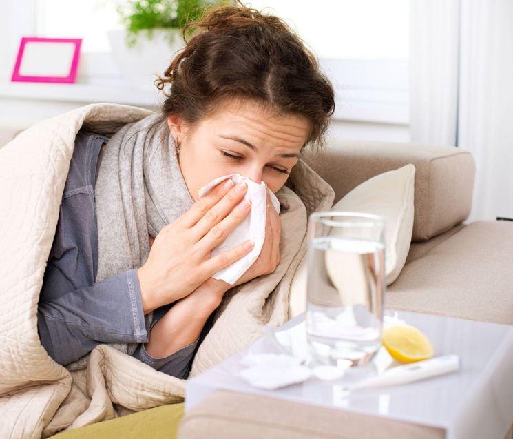 menta per il raffreddore