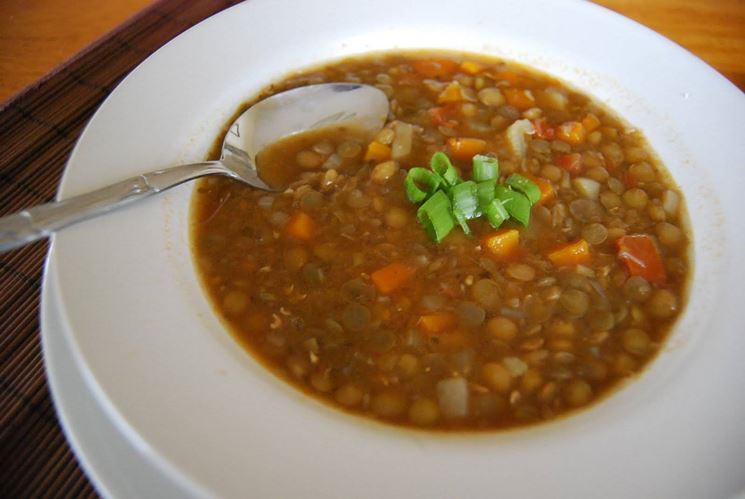 lenticchie allo zenzero