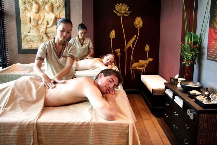 Massaggio con aromaterapia