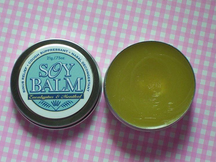 Crema balsamica a base di olio essnziale di eucalipto