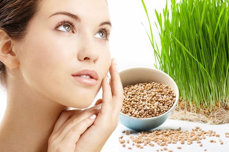 germe di grano cosmetici