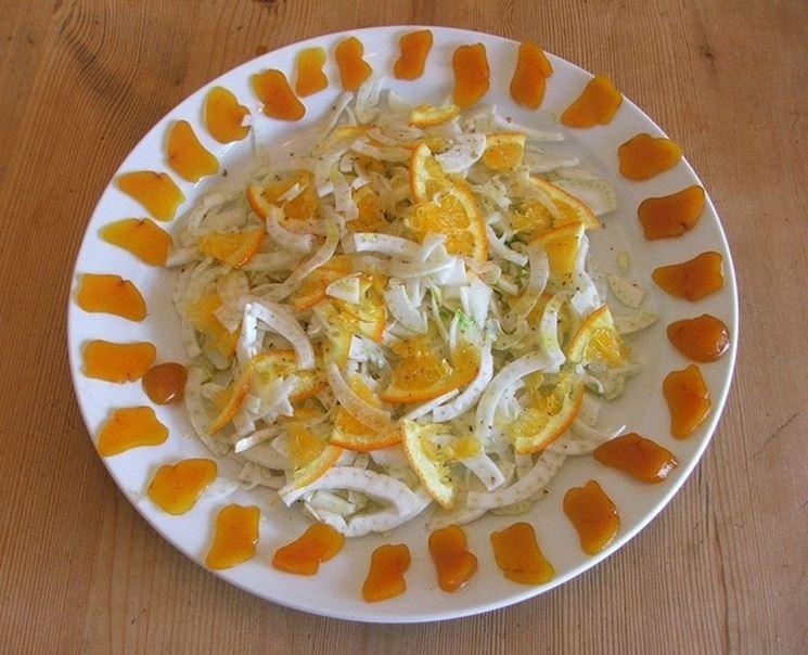 finocchio in insalata