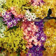 composizione fiori finti per matrimonio