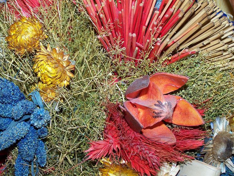fiori finti di carta crespa