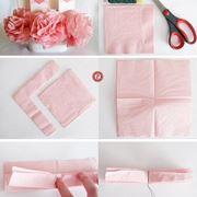 Procedimento per fare fiori di carta