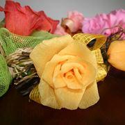 Come fare fiori di carta materiali