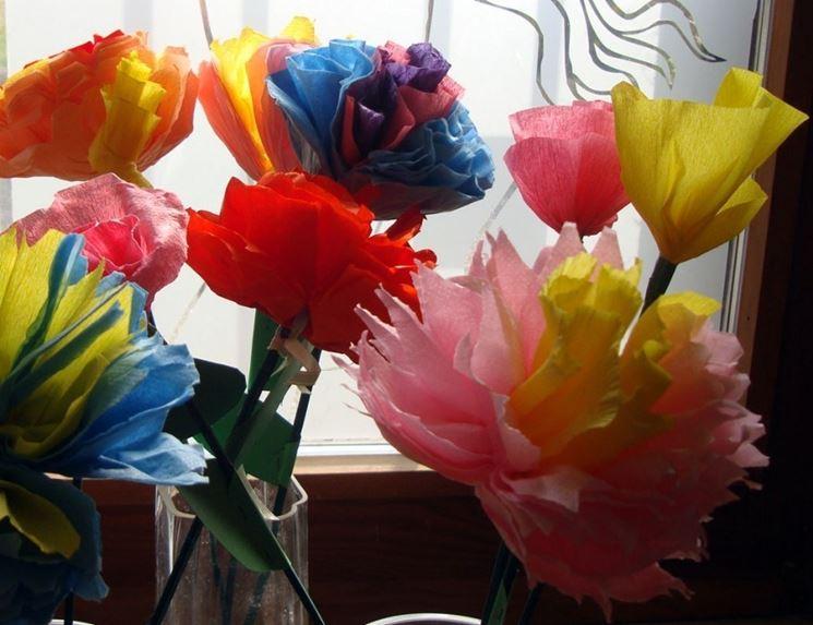 Come fare fiori di carta tecniche