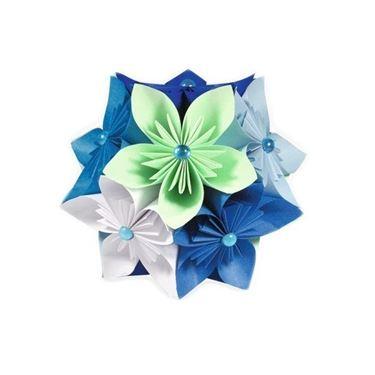Palla origami fiori facili