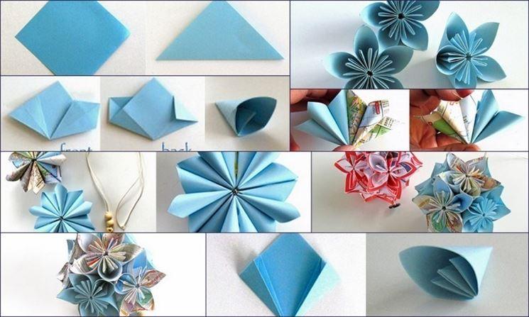 Istruzioni per piegare un origami facile