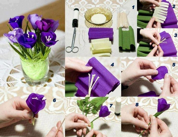 Passaggi per realizzare fiori di carta