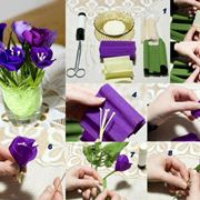 Fiore di carta step by step