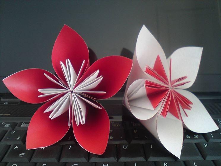 Fiore di carta fiori di carta come realizzare un fiore for Fiori di cartoncino