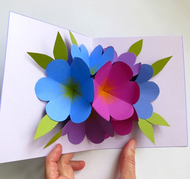 fiori di carta fai da te fiori di carta come ForFiori Di Cartoncino