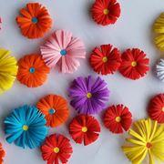 fare fiori di carta