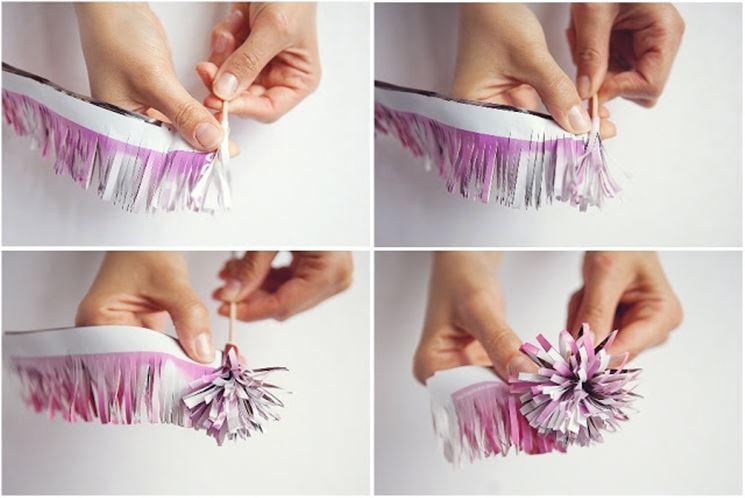 Come arrotolare la carta