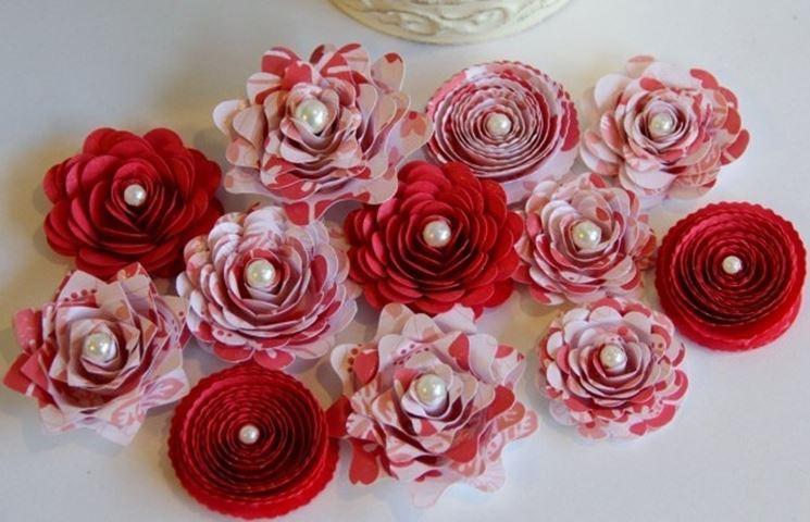 Esempio di fiori di carta
