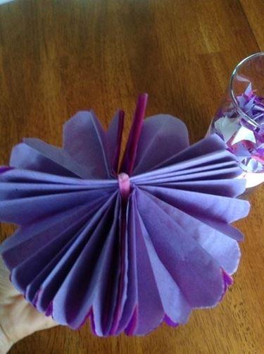 Il fiore di carta velina