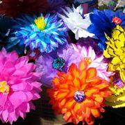 fiori in carta crespa