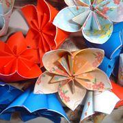 Campanula realizzata con tecnica origami