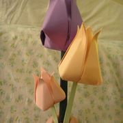 Tulipani fiori facili origami