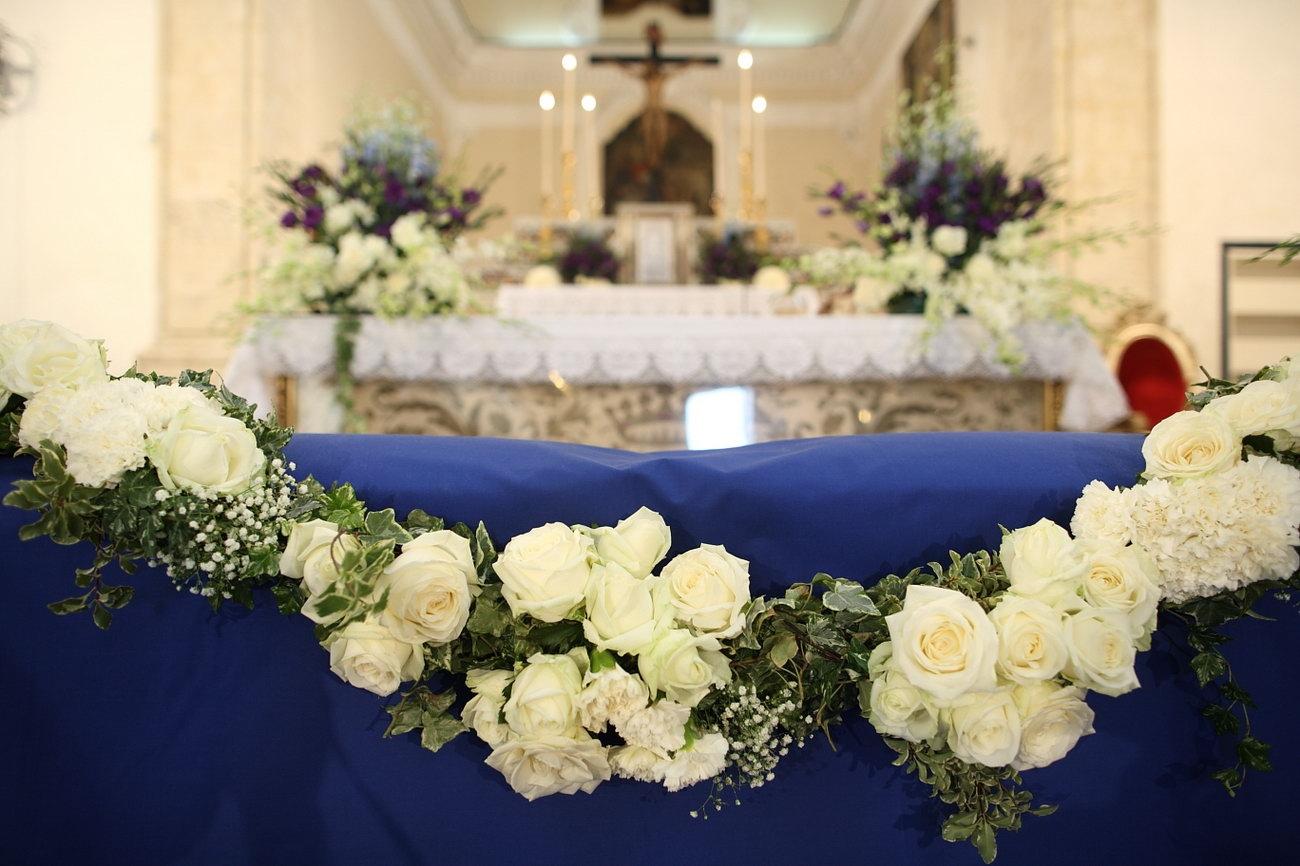 Addobbi chiesa matrimonio fiori per cerimonie for Addobbi piscina per matrimonio