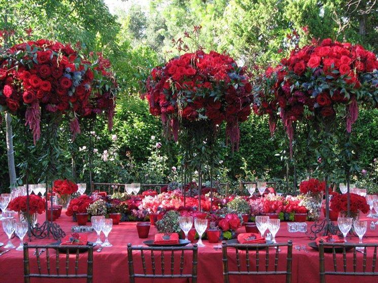 Addobbi per feste fiori per cerimonie addobbi floreali for Addobbi laurea