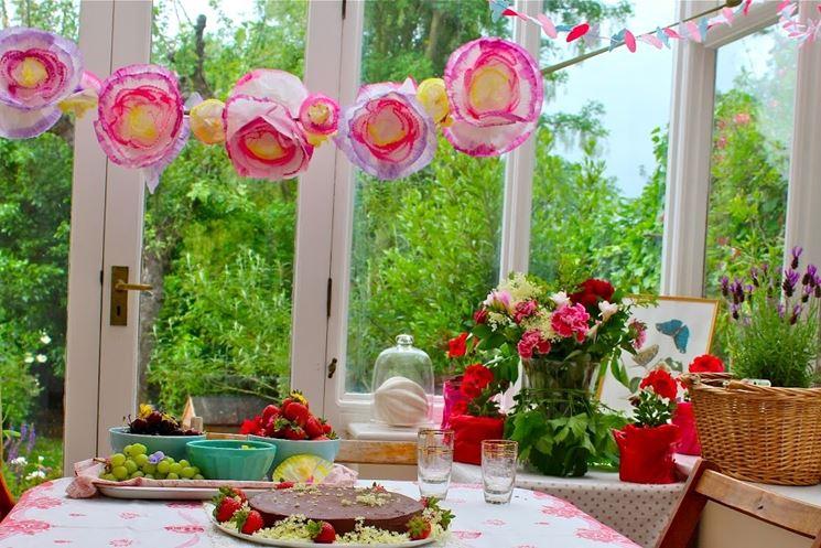 Addobbi per feste fiori per cerimonie addobbi floreali for Addobbi da giardino