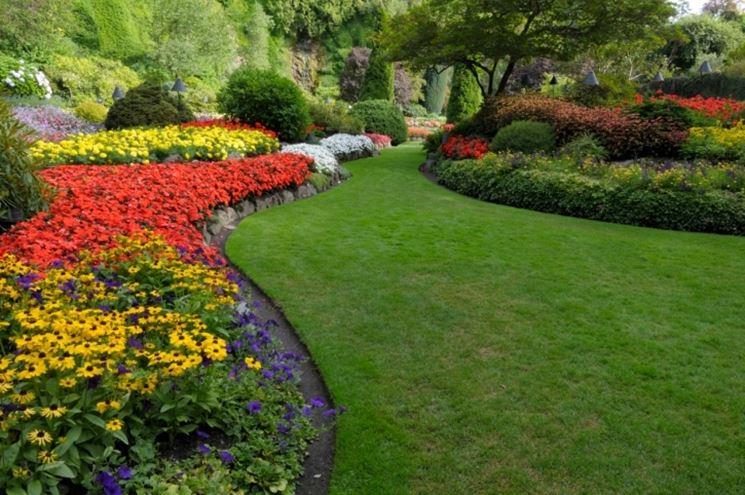 Il giardino invidiato da tutti