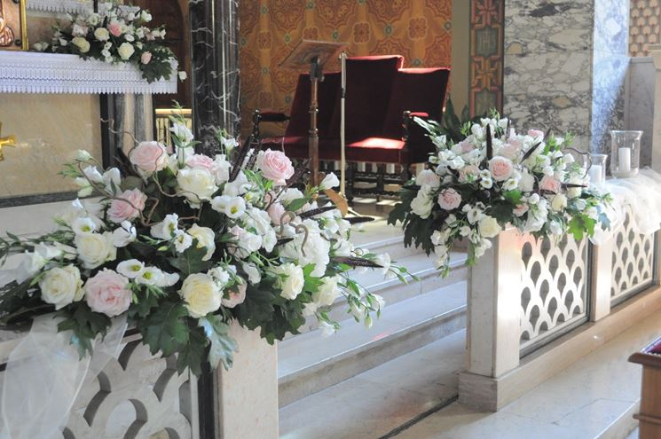 Favorito Addobbi floreali in chiesa - Fiorista - Fiori per cerimonie in chiesa JI22