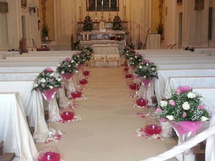 Favorito Addobbi floreali matrimonio in chiesa - Fiorista - Fiori per la chiesa BQ35