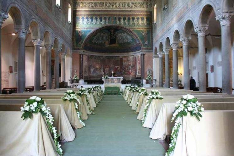 addobbi chiesa per matrimonio