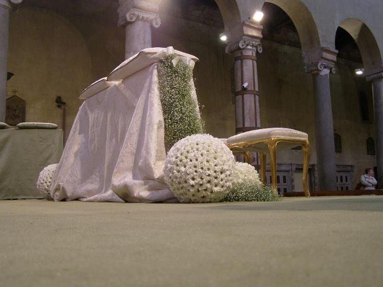 Addobbi floreali per matrimoni realizzati con stile