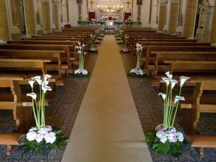Famoso Addobbi matrimonio chiesa - Fiorista - Addobbi matrimonio per chiesa TY21