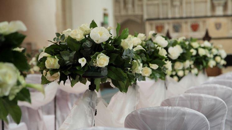 Popolare Composizioni floreali chiesa - Fiorista - Fiori per cerimonia chiesa KA09