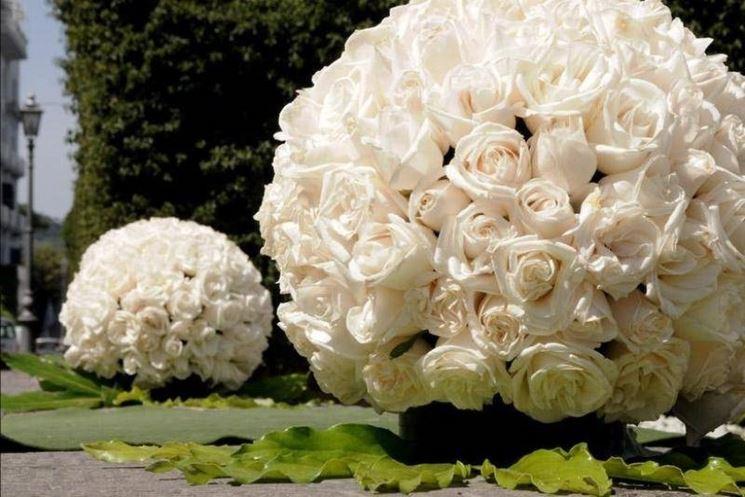 creazioni floreali lavorate