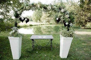 matrimonio chic in un giardino