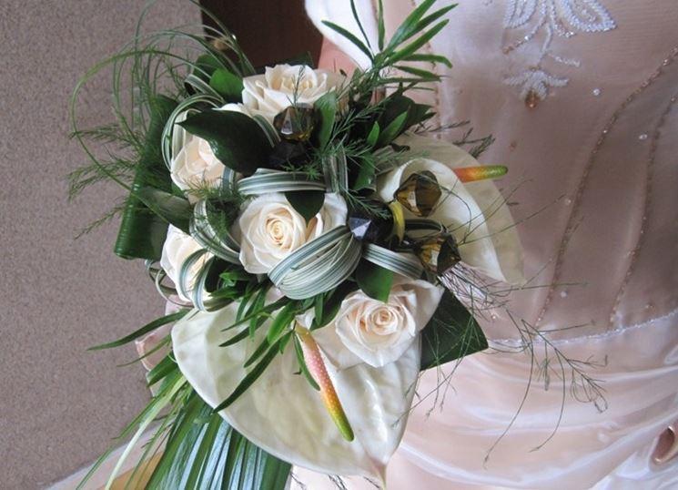 Bouquet con anthurium