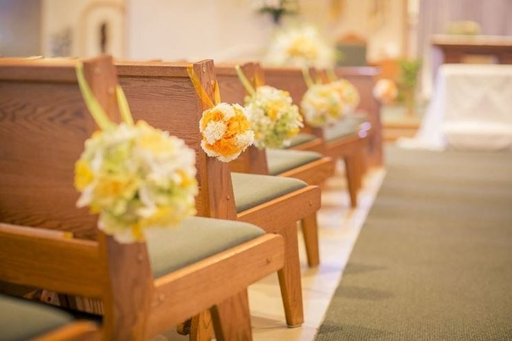 decorazioni per le panche giallo, arancio