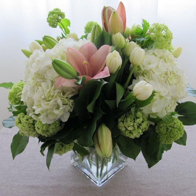 Famoso Fiori Battesimo - fiori per cerimonie - Fiori da regale ad un  QZ65