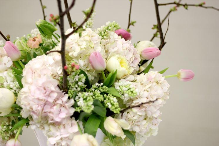 fiori battesimo