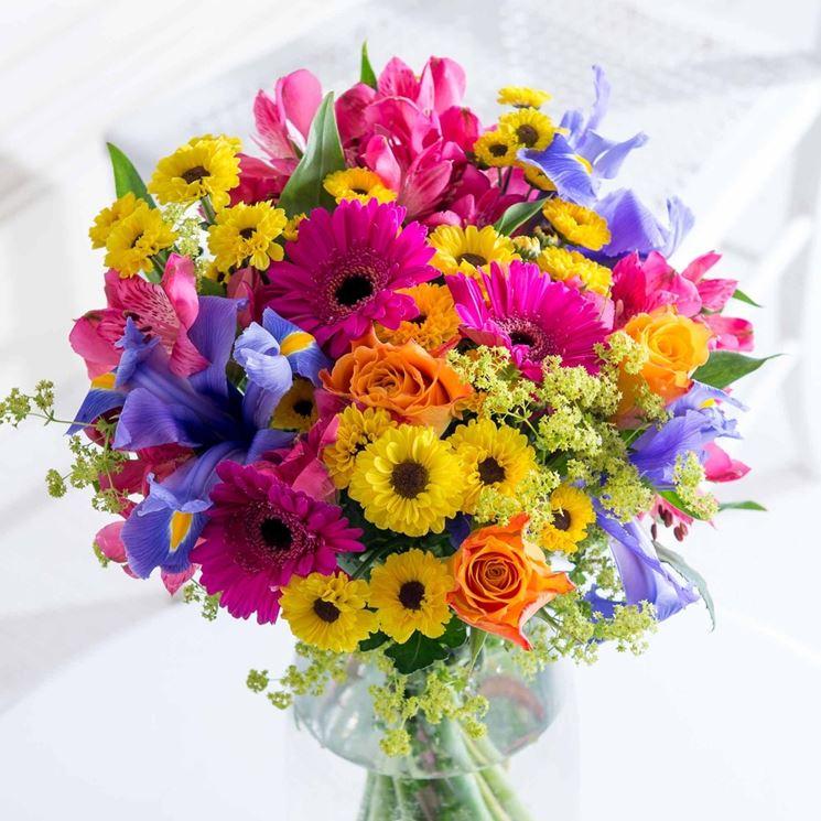 abbastanza Fiori compleanno - fiori per cerimonie - Fiori per compleanno  CG42