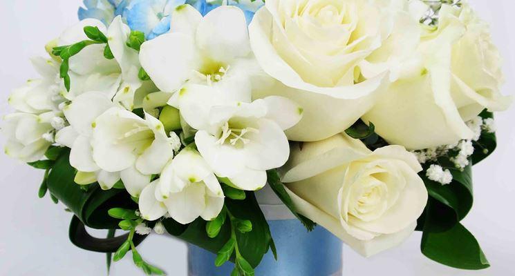 abbastanza Fiori nascita - fiori per cerimonie - Fiori per la nascita VW95