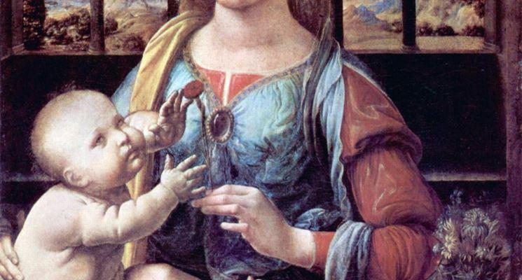 Madonna con garofano